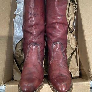 DEXTER Vintage Boho Pull on Cowboy boots 8.5 N
